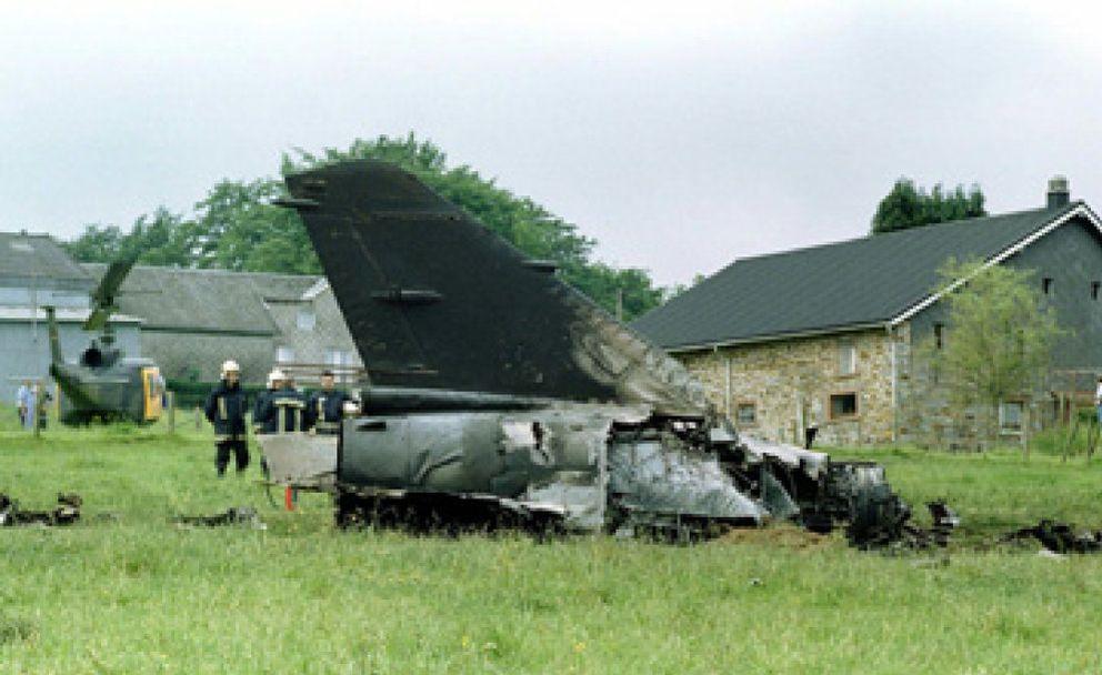 Foto: 'Ataúdes volantes': casi la mitad de los 72 cazas  F-1 del Ejército del Aire ya se han estrellado