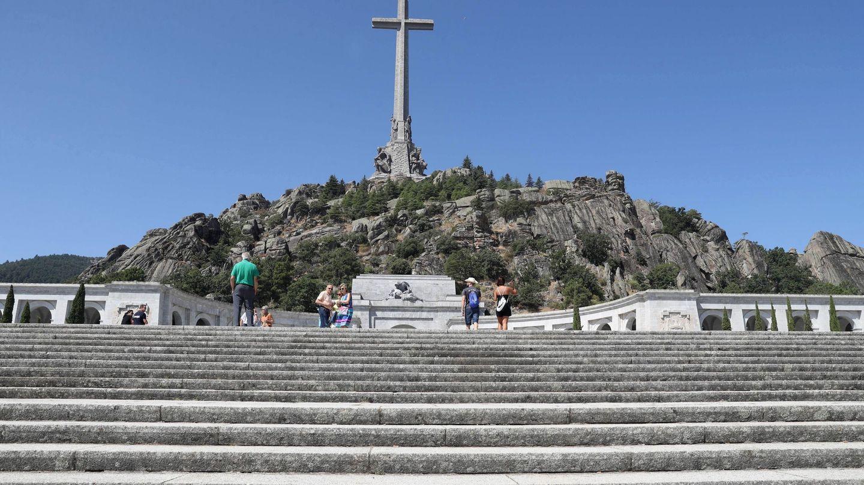 Vista general del monumento del Valle de los Caídos. (EFE)