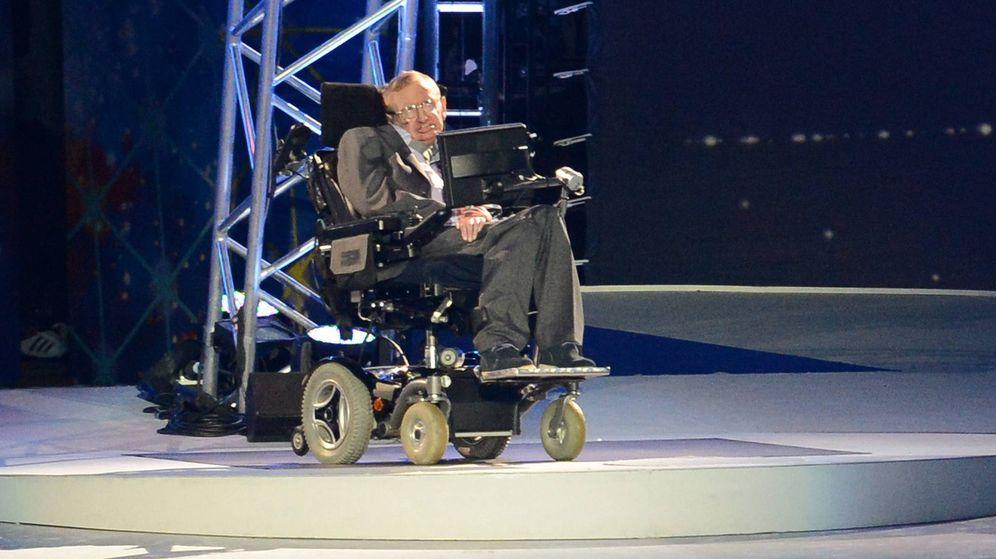 Foto:  El científico Stephen Hawking en la ceremonia de inauguración de los Juegos Paralímpicos de Londres 2012. (EFE)