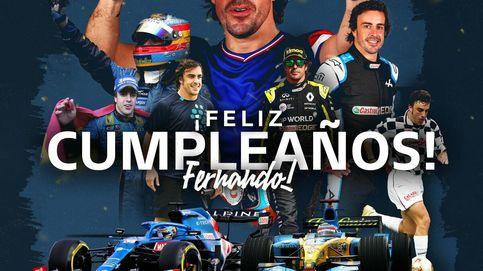 Cuando la edad sí que importa, a pesar de lo que diga el propio Fernando Alonso