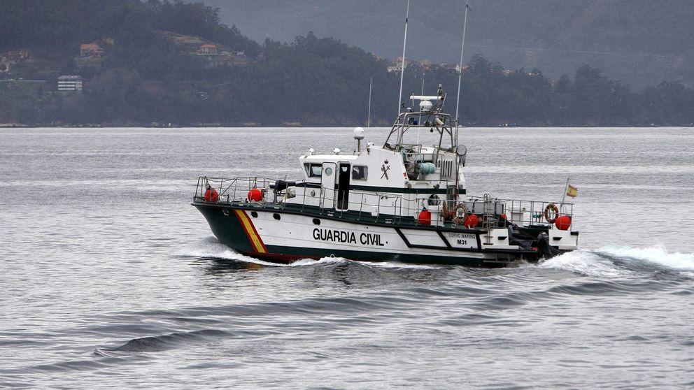 Continúa la búsqueda de los marineros desaparecidos al sur de Cíes
