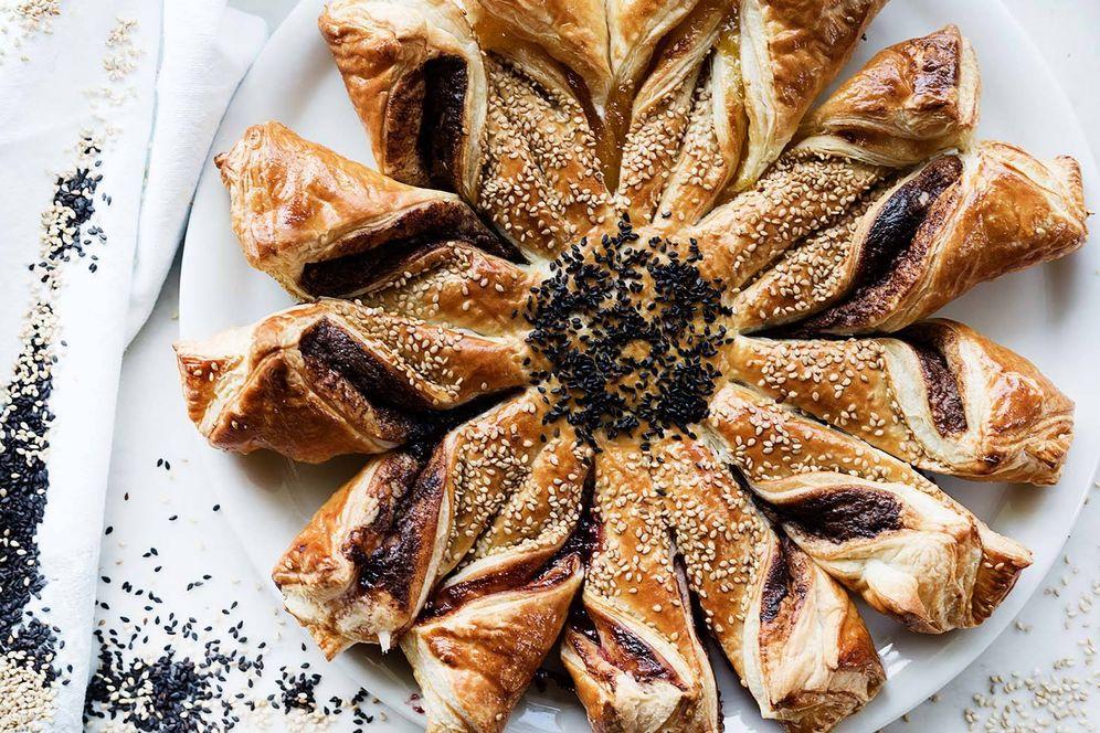 Foto: Receta de tarta sol de hojaldre. (Foto: Snaps Fotografía)
