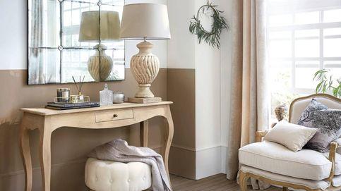 Tres consejos de Maisons du Monde para conseguir un estilo rústico en tu salón