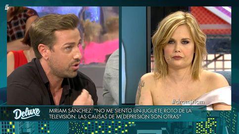 Miriam Sánchez aniquila a Rafa Mora en el 'Deluxe': Estás aquí gracias a mí