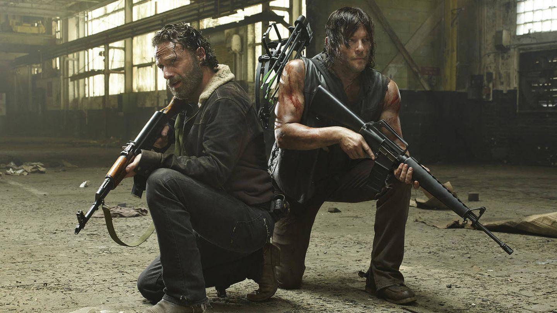 'The Walking Dead' destaca en Netflix a la hora de la cena.