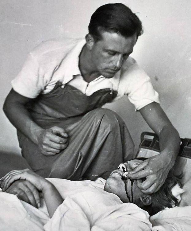 Foto: La que podría ser la última imagen de Gerda Taro (John Kiszely)