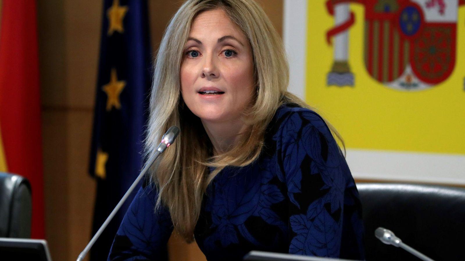 Foto: La secretaria general del Tesoro y Política Financiera, Emma Navarro. (EFE)