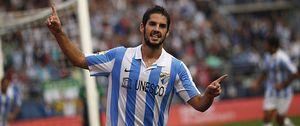 Foto: La llegada de Lucas Piazón al Málaga puede ser la clave para que Isco fiche por el Chelsea