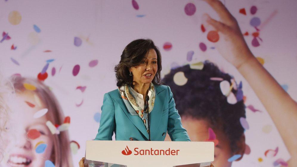 Foto: Ana Botín, presidenta del Santander (Efe)
