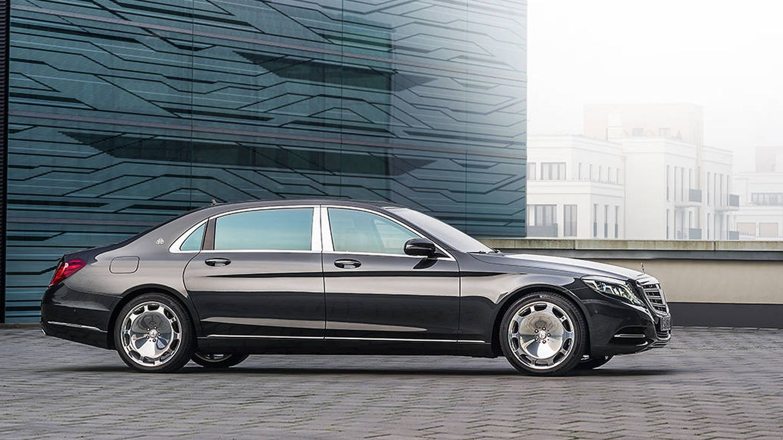 Mercedes-Maybach S600 Guard.