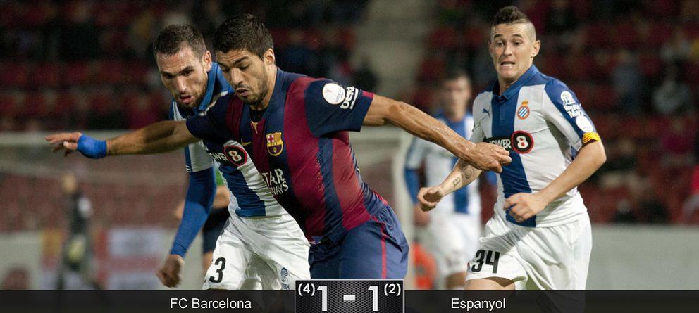 Foto: Hasta Luis Súarez debe de preguntarse para qué sirve la Supercopa de Cataluña