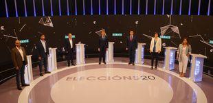 Post de Feijóo salva el 'todos contra uno' en un debate con total sintonía entre PSdG, BNG y GeC