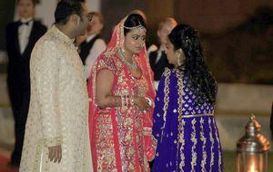 La boda de la sobrina de Mittal, un enlace de 'Las mil y una noches'