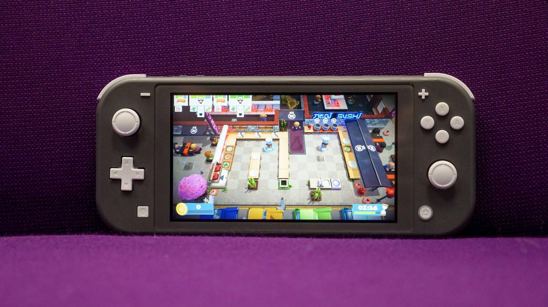 Nintendo Switch Lite. (M. Mcloughlin)