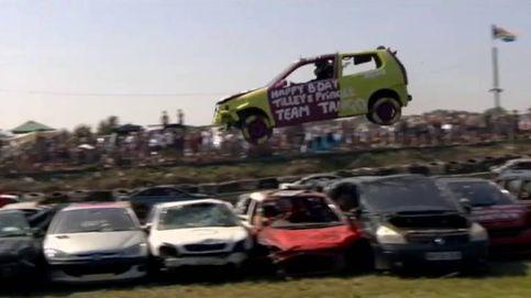 Los coches voladores del campeonato mundial de Sussex
