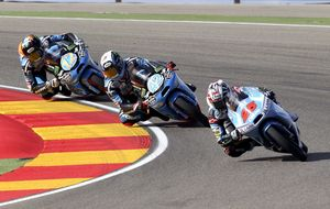 Rins y Terol lideran sendos podios españoles en Moto3 y Moto2