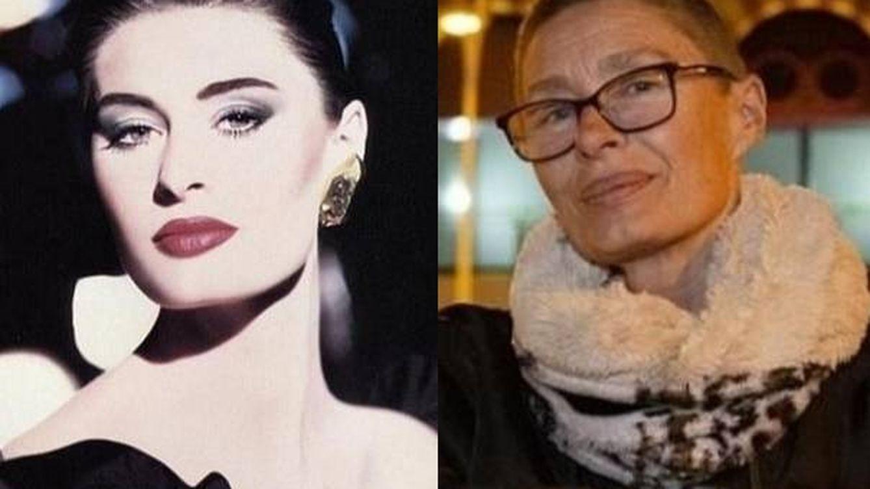 Foto: Nastasia Urbano, antes y ahora. (GoFound Me)