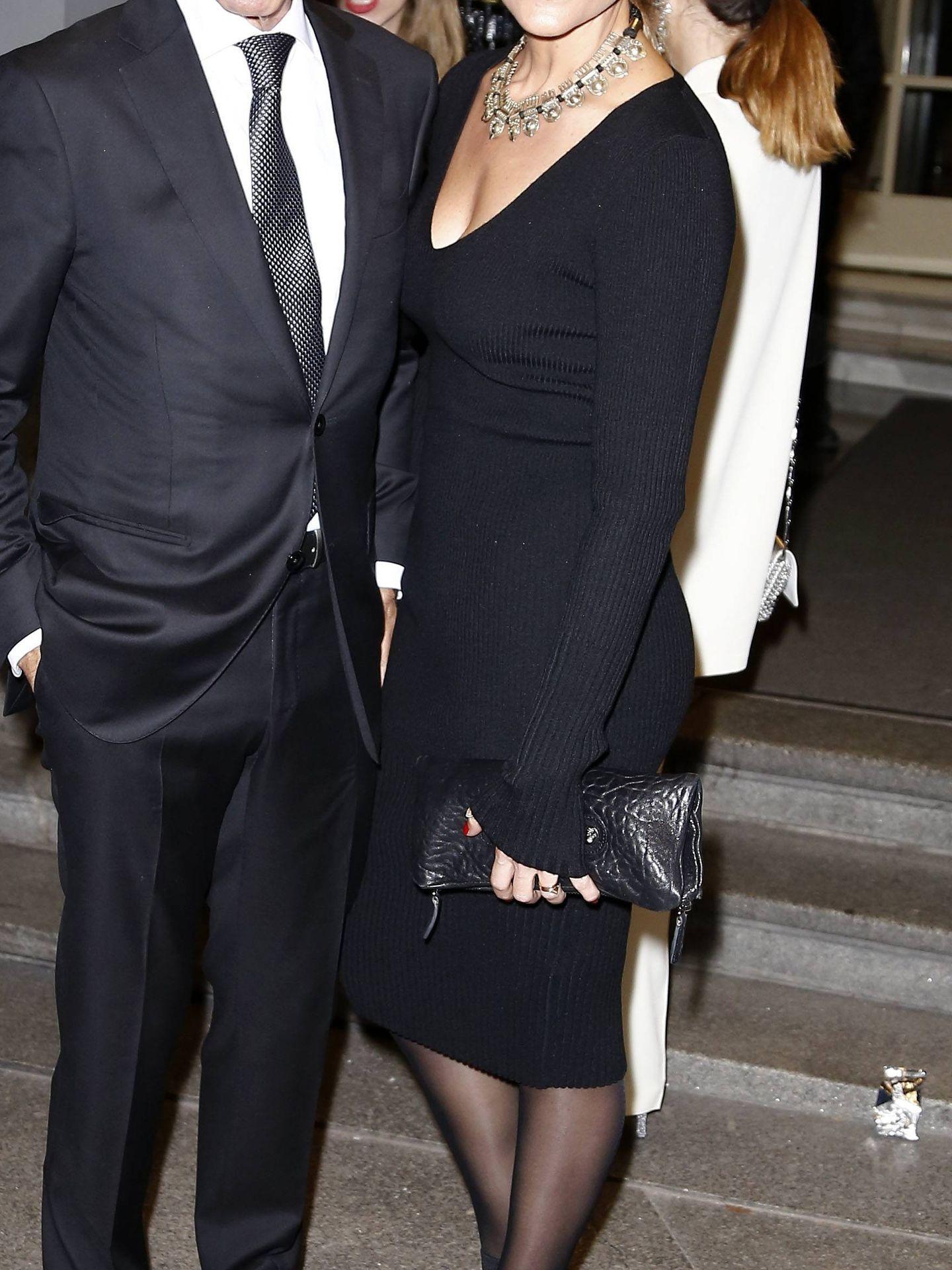 Imanol Arias e Irene Meritxell, en los Premios GQ. (Cordon Press)