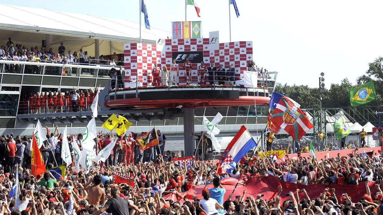 Foto: Imagen correspondiente al GP de Italia en 2010 (Ercole Colombo)