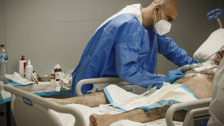 El 'destete' en directo: cuando los pacientes del covid-19 intubados respiran solos de nuevo