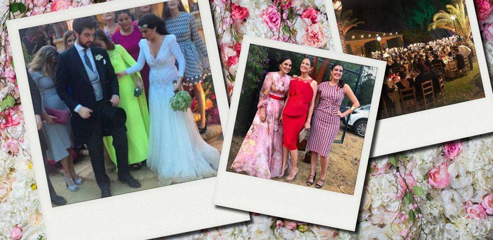 Foto: La boda de Fernanda del Río en un fotomontaje elaborado por Vanitatis.