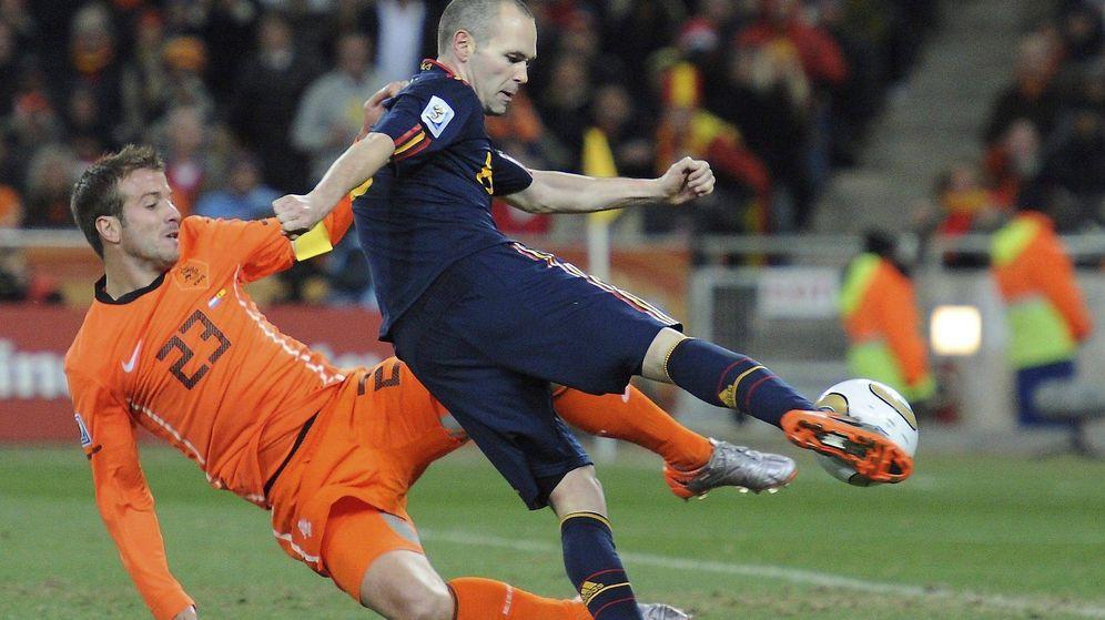 Foto: Gol de Iniesta en la final del Mundial. (EFE)