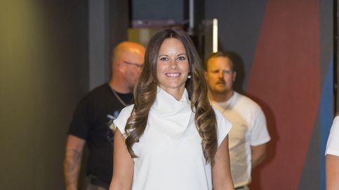 Sofía Hellqvist acude a su primer acto en solitario como princesa