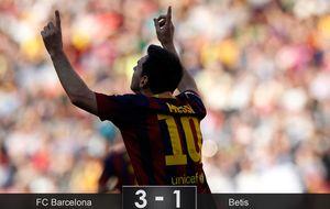 El Barcelona salva la cabeza, pero no logra despejar dudas ante un atrevido colista