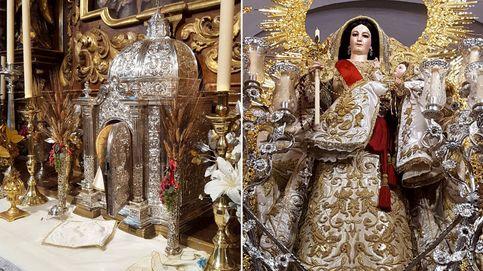 Roban las joyas de la Virgen del Rosario de una iglesia de Sevilla
