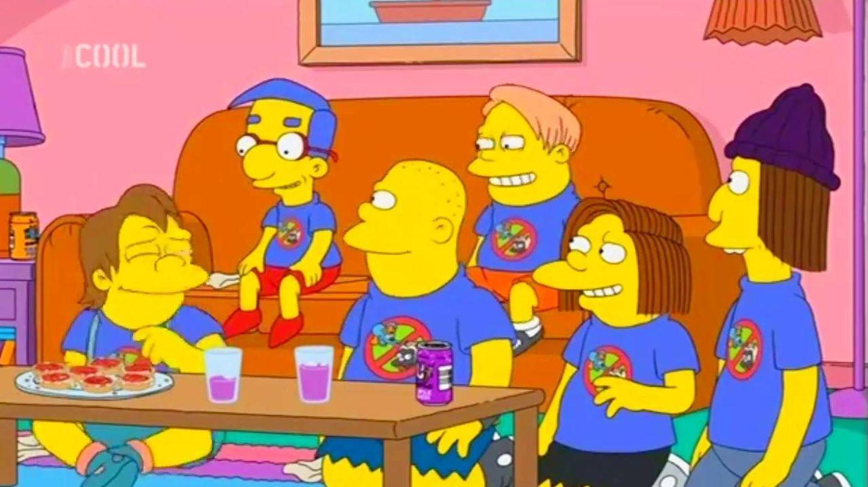 Milhouse, en la serie 'Los Simpson'. (Fox)