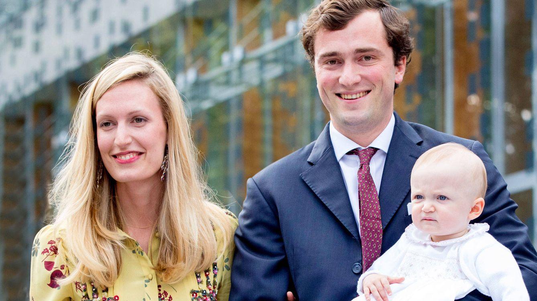 Amadeo de Bélgica y su esposa, padres de nuevo: ella es la nueva víctima de la ley sálica