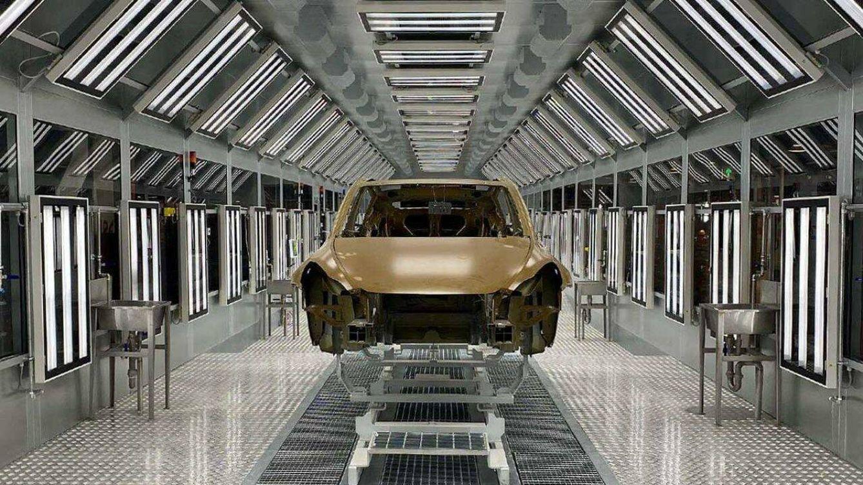 Foto: La nueva fábrica de Tesla en Shanghai funciona a pleno rendimiento. (Tesla)