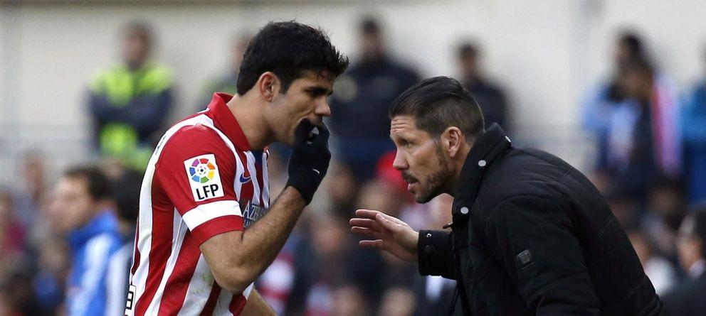 """Simeone se muerde la lengua: """"Mi equipo está vivo aunque le moleste a algunos"""""""