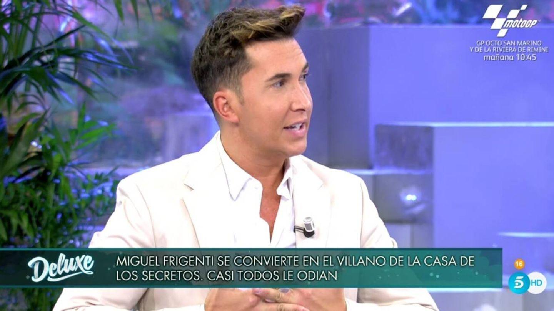 Omar Suárez, en 'Sábado Deluxe'. (Telecinco).