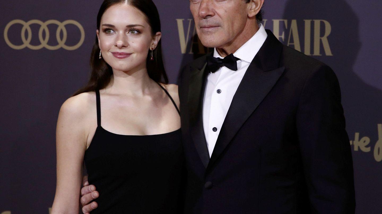 Antonio Banderas y su hija, en una imagen reciente. (EFE)