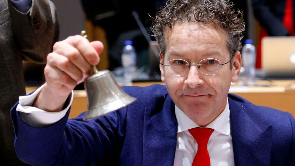 Foto: Dijsselbloem, durante su periodo como presidente del Eurogrupo. (Reuters)