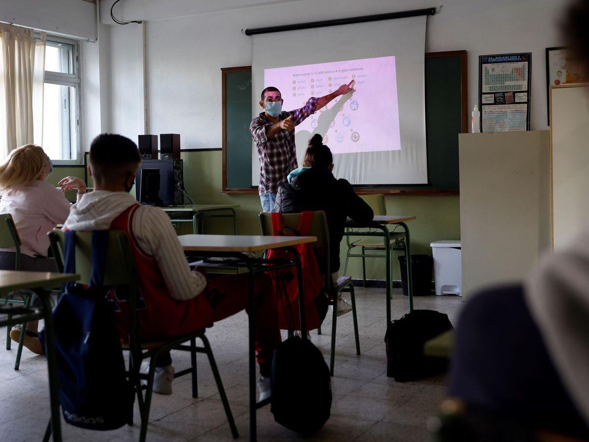 Foto: Clase en un instituto de Madrid. EFE