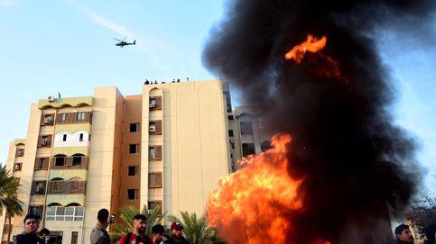 Impactan dos cohetes cerca de la Embajada de Estados Unidos en Bagdad