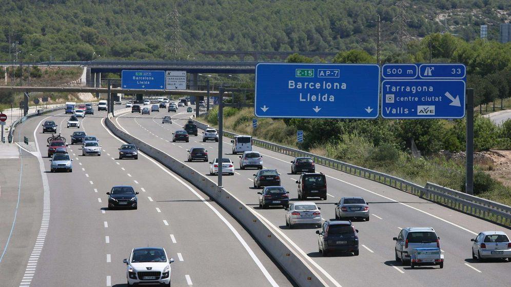 Foto: Uno de los tramos de la AP-7 entre Alicante y Tarragona. (EFE)