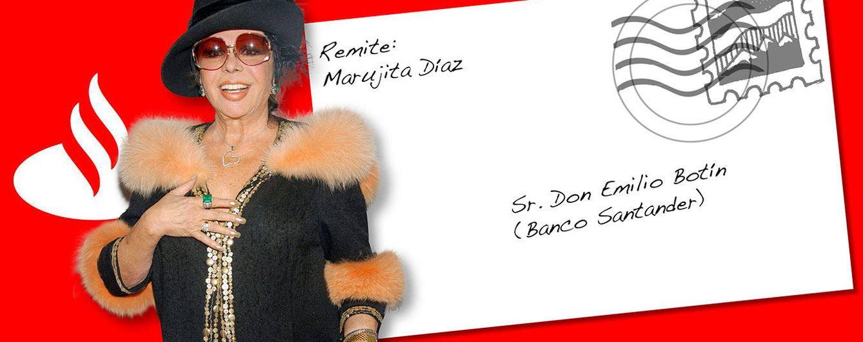Foto: La carta de Marujita a Emilio Botín