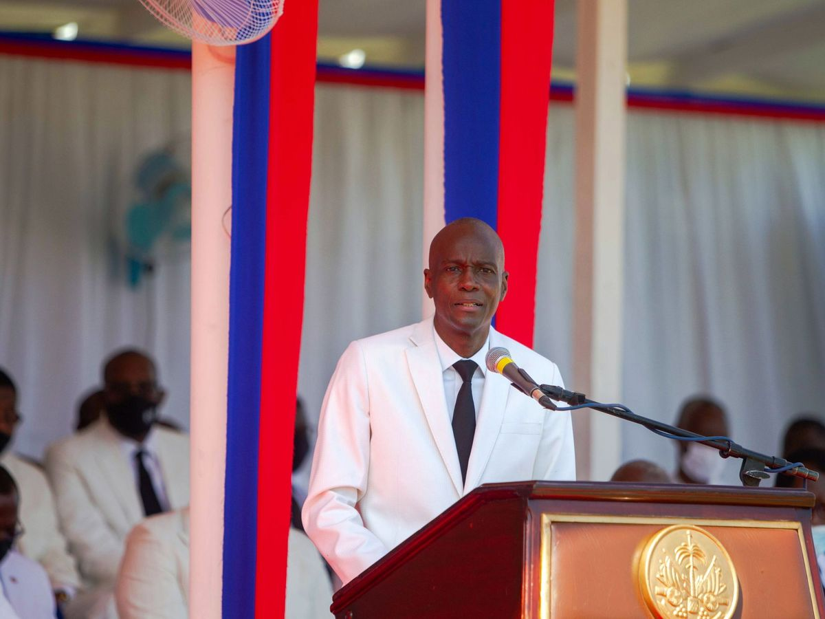 Foto: El presidente de Haití, Jovenel Moise. (EFE)
