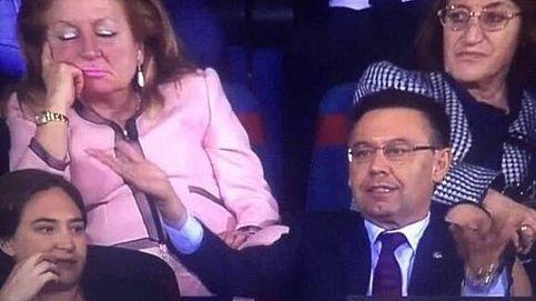¿Quién es la mujer de rosa que acaparó la atención en la final de Copa del Rey?