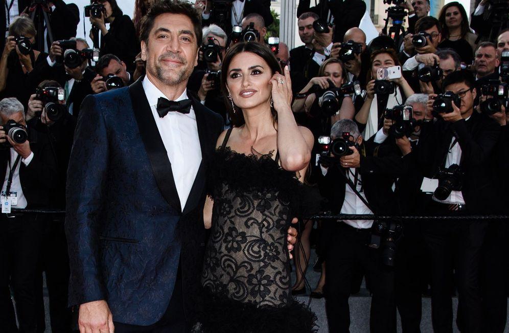 Foto: Javier Bardem y Penélope Cruz en el Festival de cine de Cannes. (EFE)