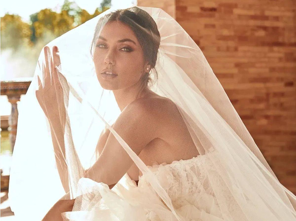Foto: Descubre el velo perfecto para tu boda. (Cortesía de Pronovias)