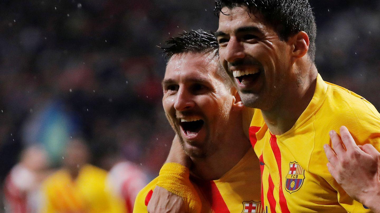 Suárez se marchó a un rival directo como el Atlético de Madrid la pasada temporada. (Reuters)