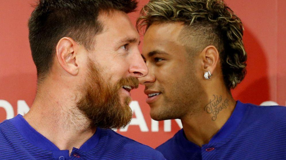 Foto: Leo Messi y Neymar en su etapa en el Barcelona. (Efe)
