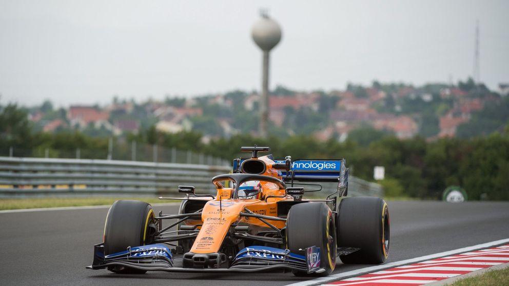 Resultado Libres 2: Red Bull manda y Carlos Sainz y McLaren acaban con problemas