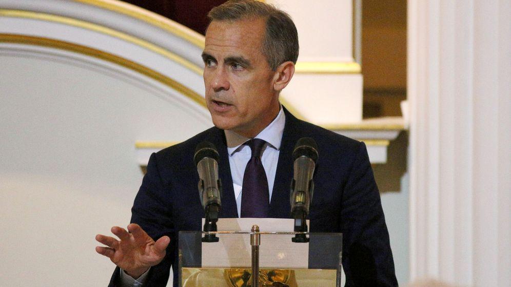 Foto: El gobernador del Banco de Inglaterra, Mark Carney./REUTERS