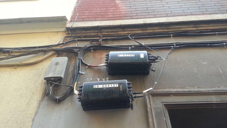 Las normas de patrimonio prohíben este tipo de instalaciones en las fachadas. (Foto: ElOtroLado)