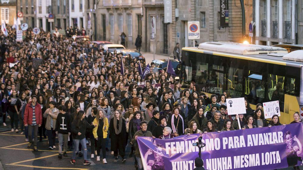 Foto: Imagen de la manifestación por el Día de la Mujer del pasado año. (EFE)
